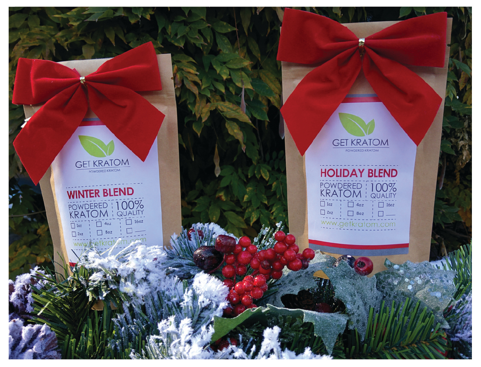 Winter Blend and Holiday Blend